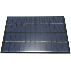 Image 4 - CLAITE 12V 2W 160mA Polycrystalline silicon Mini Solar Panel module Cell  For Charger DC Battery DIY 136x110mm Quality Wholesale