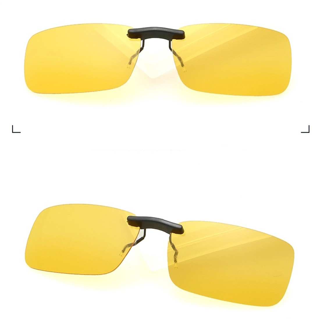 5664d0678d5 Unisex Polarized Clip On Sunglasses Driving Night Vision Lens Anti UVA Anti  UVB Cycling Riding Sunglasses Clip For Near Sighted-in Fishing Eyewear from  ...