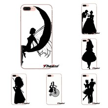 TPU Siliconen Case Sneeuw Witte fee tinker bell romantiek Voor Samsung Galaxy S3 S4 S5 Mini S6 S7 Rand S8 s9 S10 Plus Note 3 4 5 8 9(China)