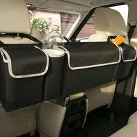 Car Backseat Storage Bag High Capacity Multi use Oxford Car Seat Back Trunk Organizer Adjustable organizers Interior Accessories