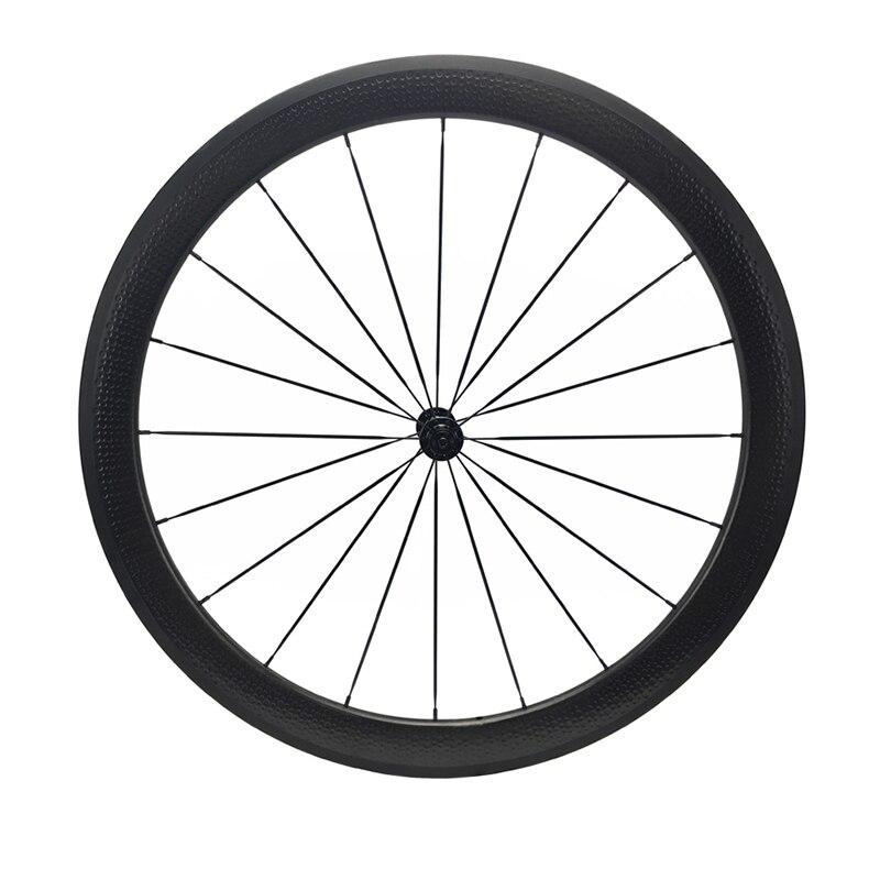50 + 80mm fossette vélo de route carbone roue vélo de route roues 25mm largeur bicicleta rueda 700C pneu tubulaire