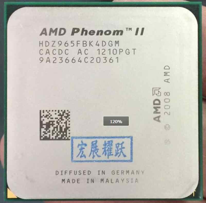 Amd Phenom Ii X4 965 X965 125w Quad Core Am3 938 Cpu 100 Working Properly Desktop Processor Desktop Processor Phenom Ii X4 965x4 965 Aliexpress