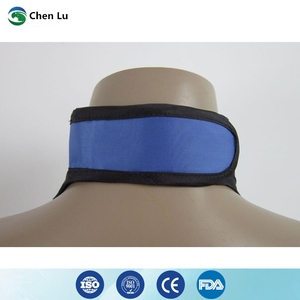 Image 5 - Medical exposure radiation protection 0.35mmpb thyroid collar x ray protective radiological department accessories