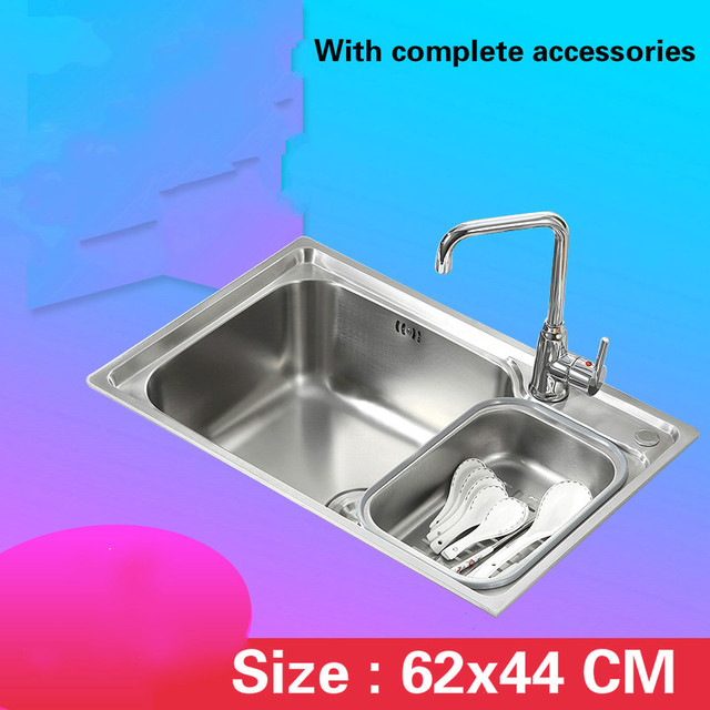 Free shipping Fashionable small kitchen sink 0.7 mm thick food grade ...