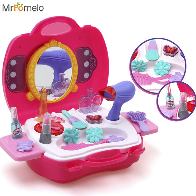 Toy Tool Kits For Girls : Baby girl pretend play tool makeup toys simulation
