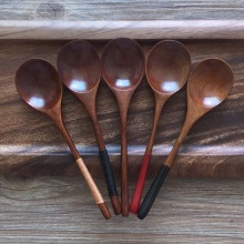 Wooden Spoon Bamboo Kitchen Cooking Utensil Tool Soup Teaspoon Catering For Kicthen