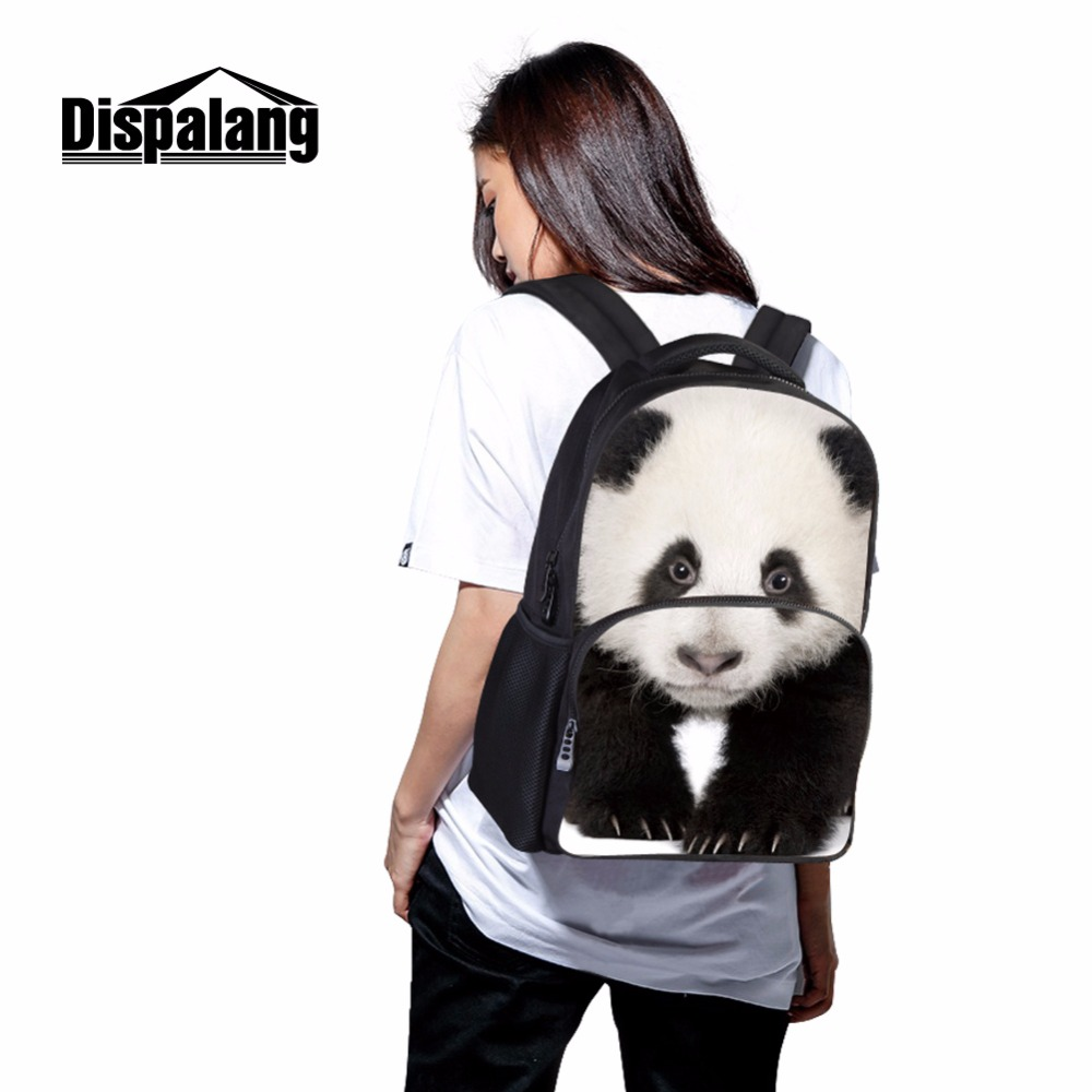 Dispalang Make Your Own Laptop Backpacks Footprints Pattern on Book Bags  Good Daily Bag for College Students Bag With Notebook-in Backpacks from  Luggage ... f42a8915443af