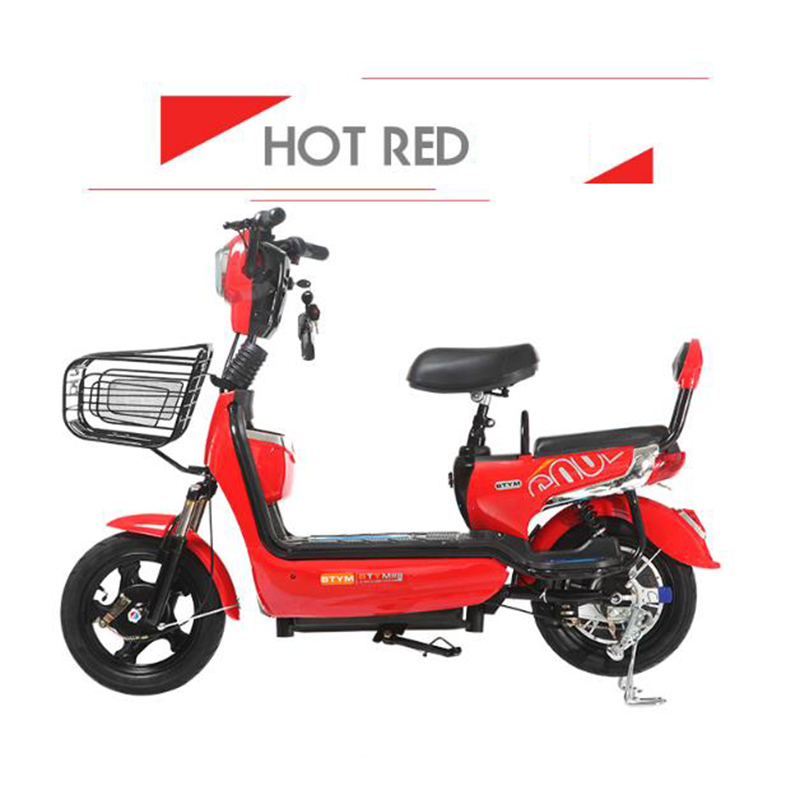 New electric vehicles, adult electric bicycles, super long battery cars, men and women trolley instead of electric cars.