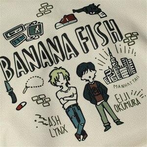 Image 3 - Mochila con dibujos de peces y plátano para hombre y mujer, Mochila Escolar de Oxford para Cosplay, bolso de viaje para Mochilas grandes y adolescentes