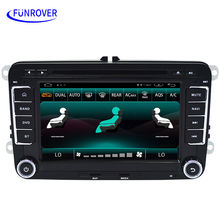 FREE SHIPPING car dvd player original OEM for vw style tiguan touareg bora polo golf passat b5 b6 jetta radio miralink audio gps