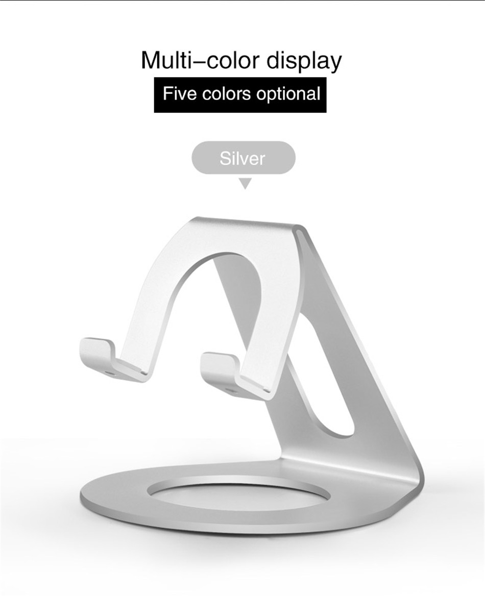 Metal Mobile Phone Holders Stands Universal Tablet Stand Desktop Holder For iPhone X 7 8 Plus For Samsung S9 Plus For Huawei (9)