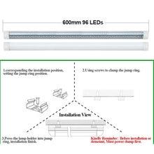 1 PCS V-Shape Integrated LED Tube Lamp 20W T8 600mm 2FT LED Bulbs 96LEDs Super Bright Led Fluorescent Light bombillas led 2000lm