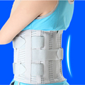 Steel Waist Support Back Support Brace Bodybuilding Belts Relieve Lumbar Support High Elastic Breathable Mesh Health Care