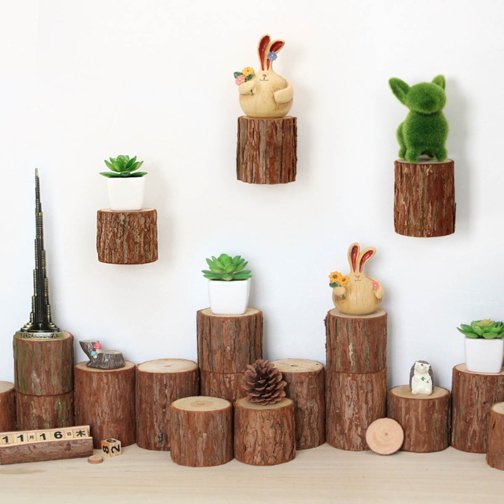 Wall Decoration Handicraft : Aliexpress buy new original wooden stake decorated