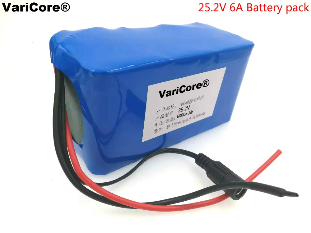 24V 6Ah 6S3P 18650 Battery li-ion battery 25.2v 6000mah electric bicycle moped /electric/lithium ion battery pack+Free shipping liitokala 24v 6ah 6s3p 18650 battery lithium battery 25 2 v electric bicycle moped electric li ion battery pack 1a charger
