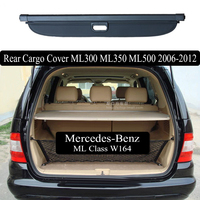 For Mercedes Benz ML W164 ML300 ML350 ML500 2006 2012 Rear Cargo Cover privacy Trunk Screen Security Shield shade Accessories