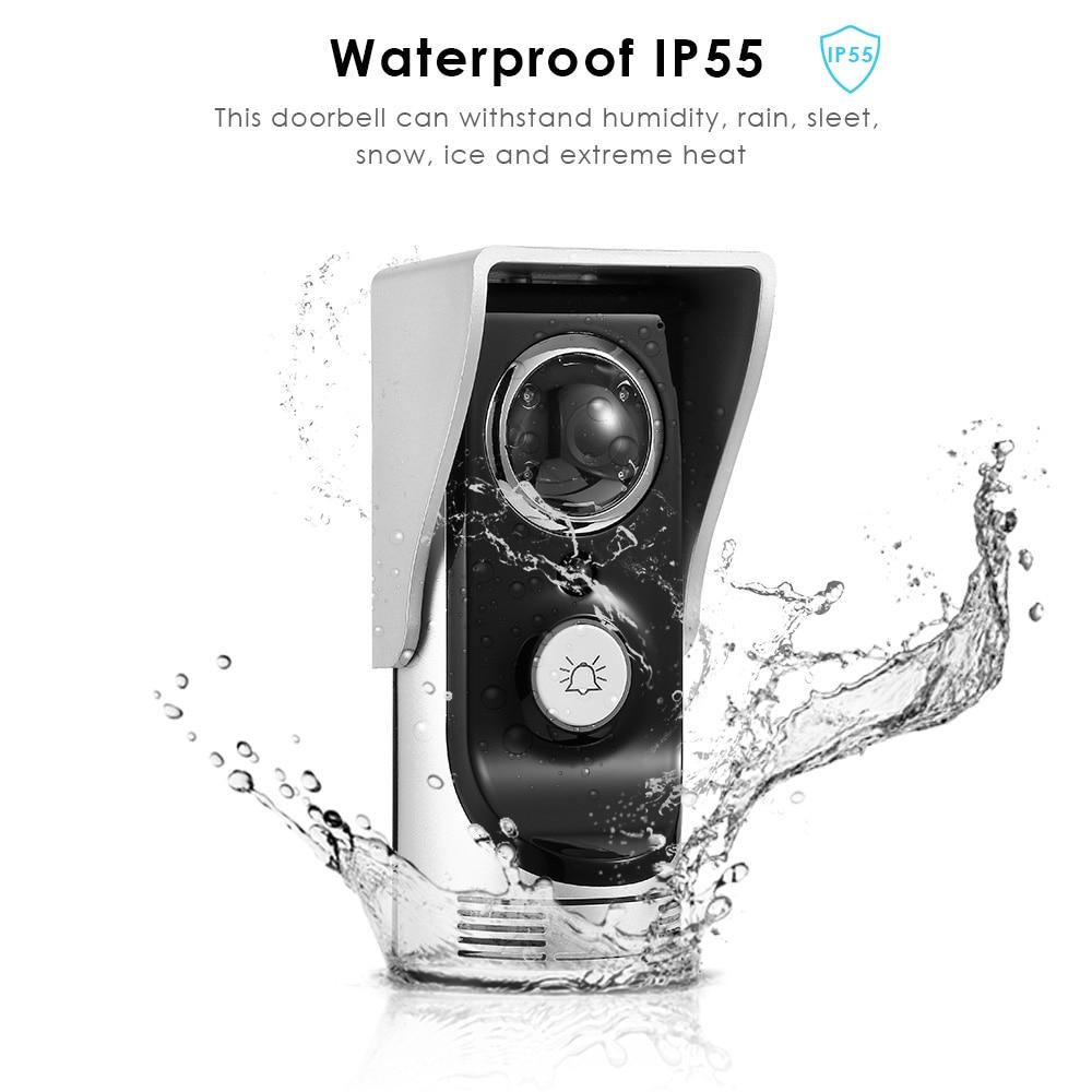Фотография FIMEI Waterproof Wireless Doorbell WiFi Video Doorbell Wi-fi Home Security Monitoring Alarm System Smart Camera Doorbell
