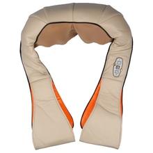 Шейный разминание шеи Плечо Массажер шиацу позвонка талии массаж Подогрев домашнего использования мульти-функция шаль