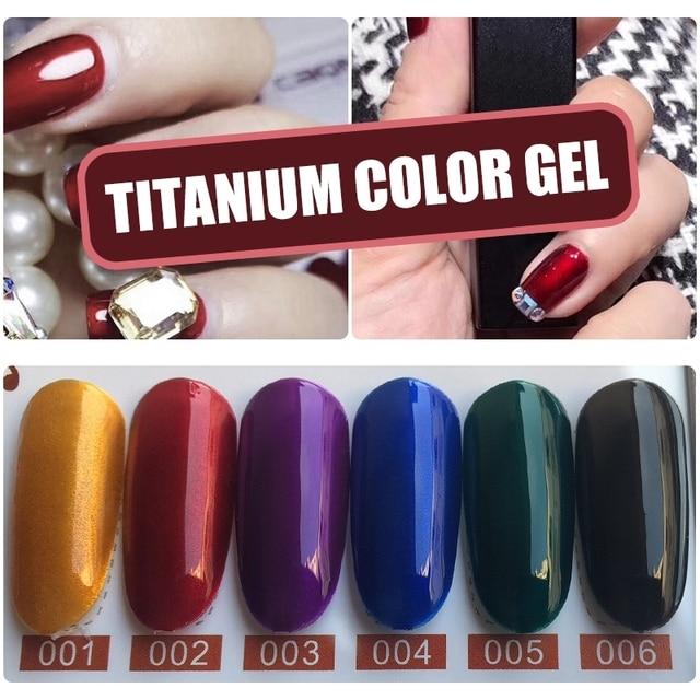 YIFEI 7Pcs Mirror Gel UV Nail Polish Silver Base Coat Primer Gel ...