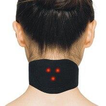 Магнитотерапия массажер для шеи Турмалин шейный позвоночник защита спонтанная нагревательный пояс массажер для тела забота о здоровье