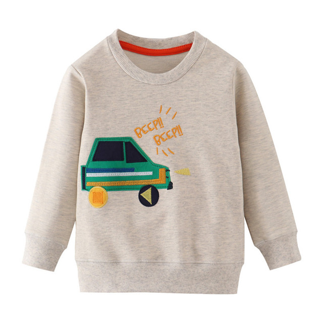 Jumping Meters New Stars Sweatshirts Baby Boys Girls Outwear Cotton Clothing Fashion Style Children Tops Autumn Spring Shirts 5