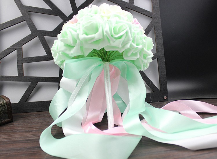 Wedding Bouquet de mariage Bridal Bouquet Wedding Bouquet Bridesmaid Artificial flower Boeket buques de noivas Bruidsboeket (5)