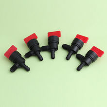 5Pc InLine Straight Fuel Gas Small Engine Valve Tools Cut-Off/Shut-Off 1/4 Valves 90 Degree Shut Cut Off Drop