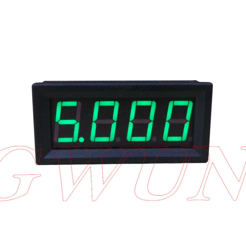 GWUNW BY456A 0-9.999A (10A) a 4 bit cifre amperometro Corrente Panel Meter 0.56 pollice LED