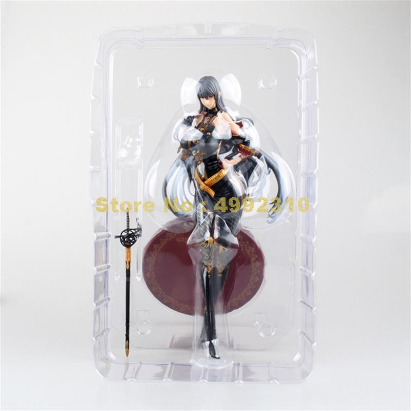 Image 5 - anime valkyria chronicles cosplay selvaria bles pvc action figures model doll 28cm ToyAction & Toy Figures   -