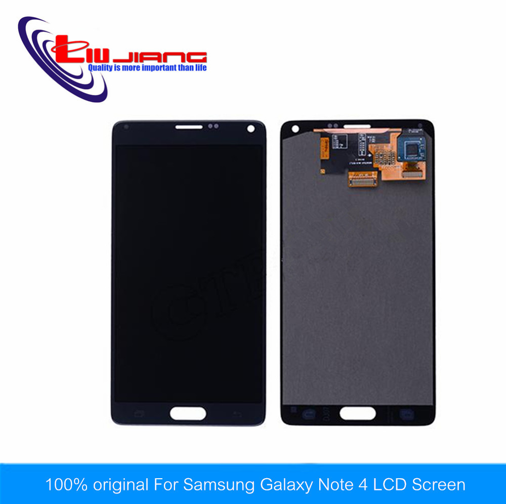 10pcs/lot New LCD Touch Screen Digitizer For Samsung GALAXY Note 4 N910 N910A N910P Lcd Display Assembly A 100% brand new lcd digitizer touch screen display assembly for samsung galaxy note 4 n910 n910a n910v n910p n910t black or white