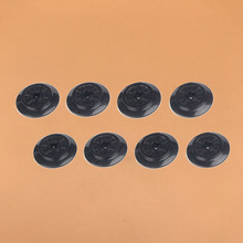 4Pcs/Lot Technic Parts Train Wheel Spoked with Axle Hole MOC For Car Track Toys Compatible