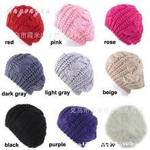 5 unids lote mujeres sombrero señora Twist lana knit Cap caliente hermosa  moda cómodo conveniente e9041a1f36b