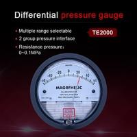 0 250PA High precision pressure meter Differential manometer gas digital manometer gauge for air clean room table pressure gauge