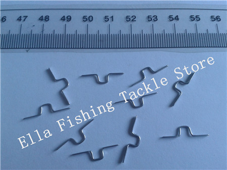 square Guide Hook Fishing Rod parts repair HOOK 5 150pcs sliver color