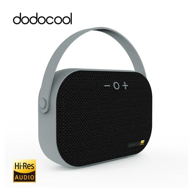 Dodocool Mini Bluetooth Динамик Hi-Res Беспроводной Динамик Перезаряжаемые Портативный Динамик с микрофоном Surpport карты памяти USB Disk 32 ГБ