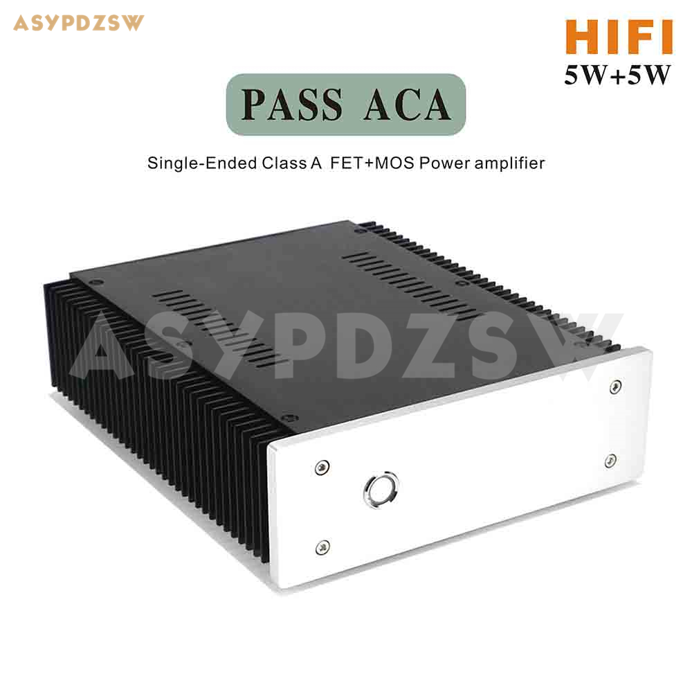 Finished HIFI PASS ACA Stereo Single-Ended Class A FET+MOS Power Amplifier 5W