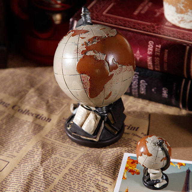 Online shop restoring ancient creative study bookcase milk tea shop restoring ancient creative study bookcase milk tea shop furnishing articles globe world map american cafe desktop ornaments gumiabroncs Image collections