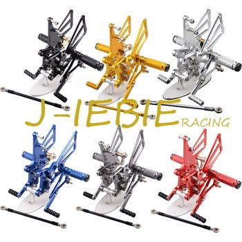 CNC Racing Rearset Adjustable Rear Sets Foot pegs Fit For Triumph T595 T509 955i SPEED TRIPLE 1050