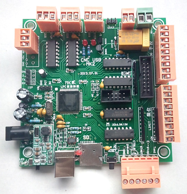 Cnc Servo Motor Controller Schematic