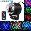 3W RGB Party Stage Light Music Sound Activated Rotating Magic Ball Projector Remote Control Dancing Disco