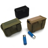 Tactical Molle Tactical Magazine Reload Shotshell Holder 15 Rounds Shell Rifle Waist Pouch Mag Green Army