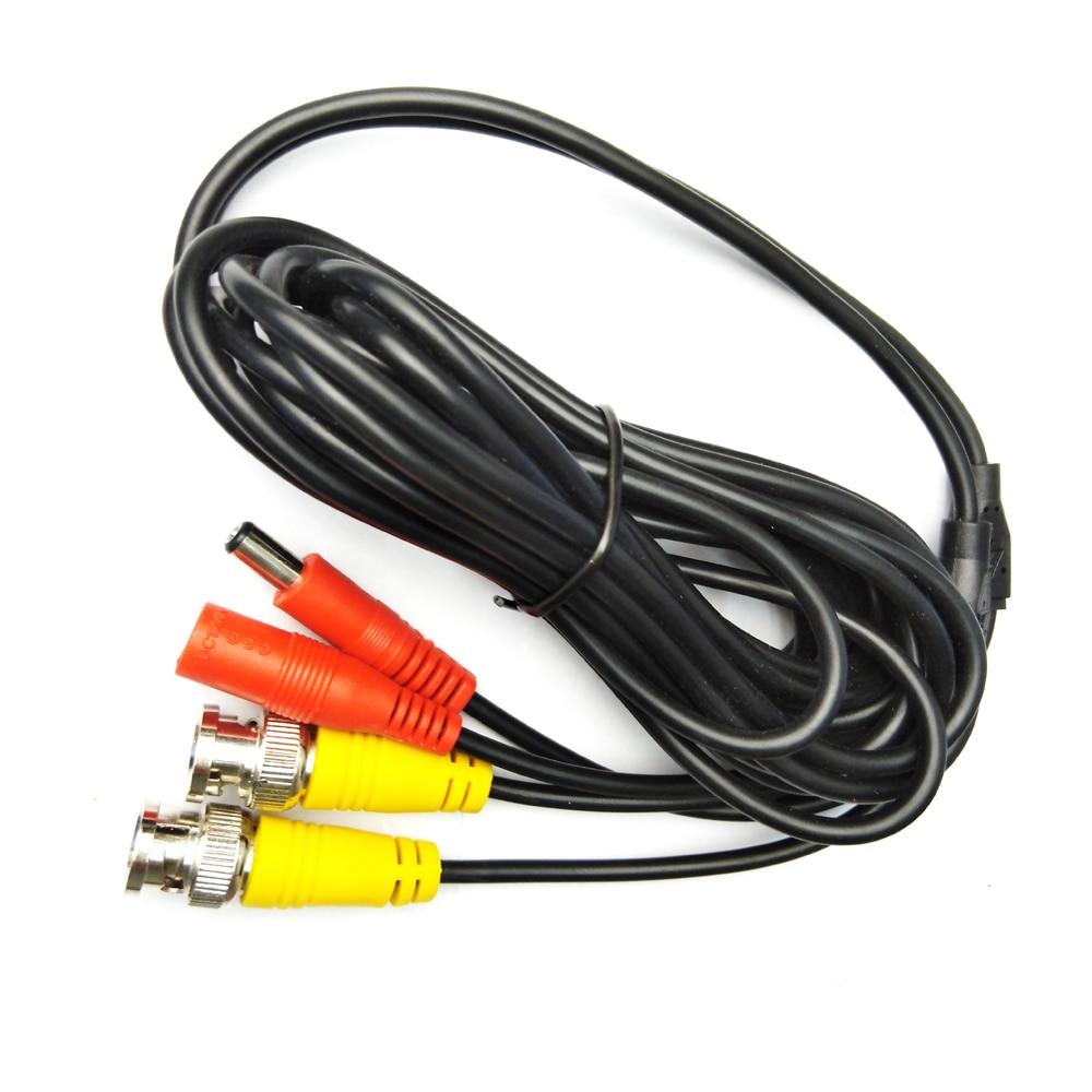 5M/10M/20M/30M BNC Cable Video Cable DC Power Security Surveillance CCTV DVR Camera Recorder System