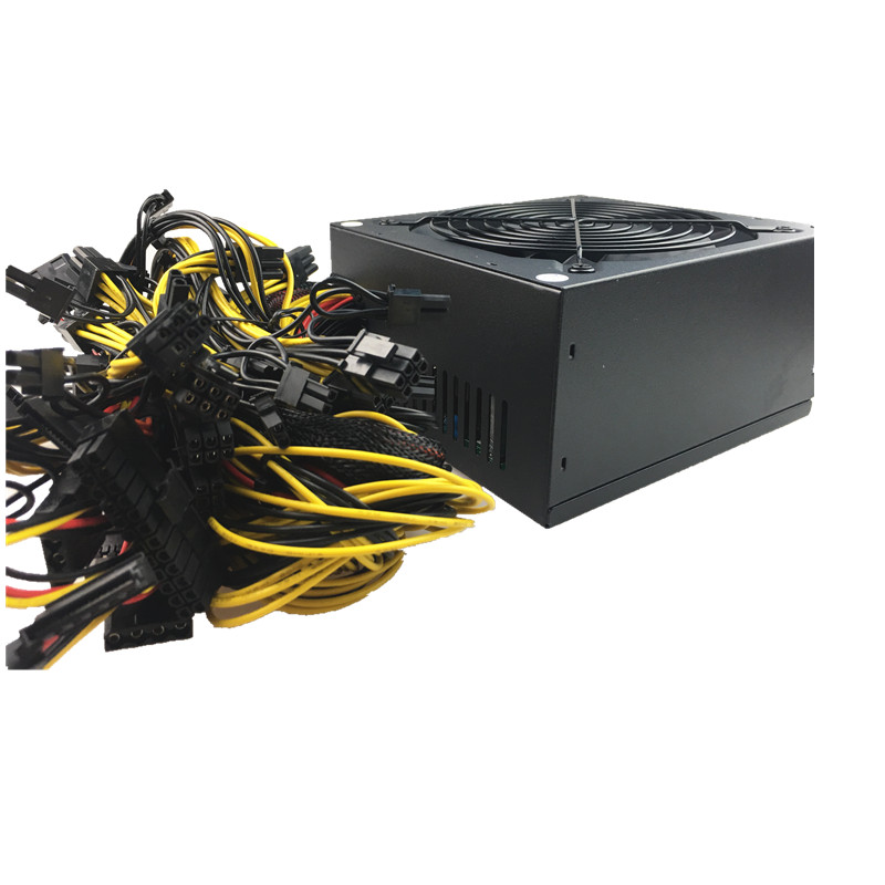 2000W PC Power supply for Bitcoin Miner ATX 2000W PICO PSU Ethereum 2000W ATX Power Supply Bitcoin 12V V2.31 ETH Coin Mining
