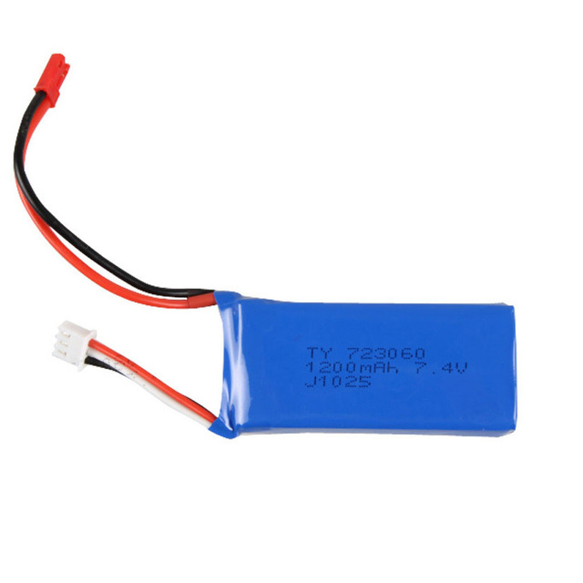 Yi Zhan Tarantula X6 Battery 7.4V 1200mAh JJRC H16 MJX X101 RC Quadcopter Spare Parts Accessory for Helicopter Extra Battery