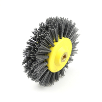 1 Piece 150 40mm M14 Abrasive Wire Antiquing Polishing Brush Wheel For Wood Furniture Stone Grinding