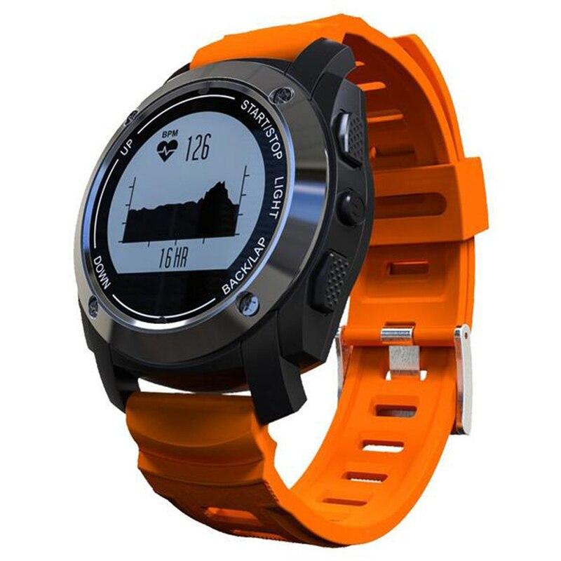 Smartch s928 Смарт часы GPS СПОРТ Профессиональные сердечного ритма Мониторы Air Давление высотомер смарт браслет для IOS Android