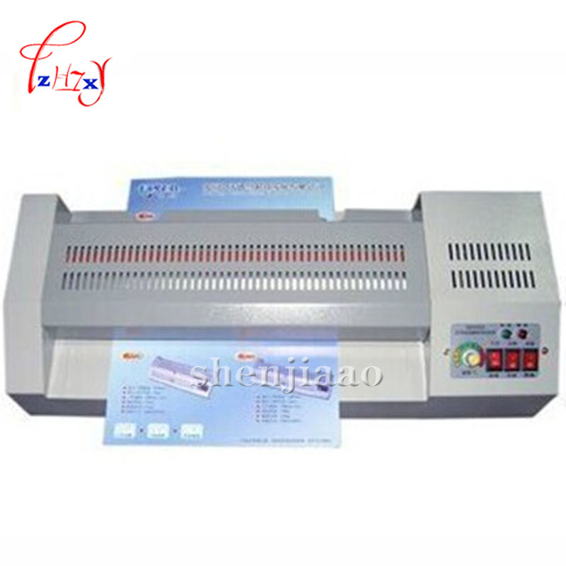 A3 laminator hot and cold lamintor laminating machine 320 paper laminator film laminator 110V/220V a3 a4 roll laminator laminating machine 4 roller system photo laminator lk4 320 220v 300w cold laminator