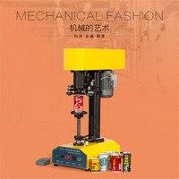 TDFJ 160 Electric PET Zip Top Ring Pull Pop Top Can Meatal Cap Sealing Capping Machine
