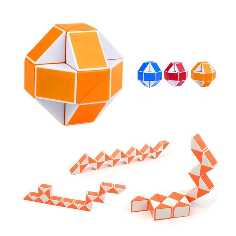 1/3pcs puzzles brinquedo Educativo Quente 3D Fresco Serpente Magia Variedade Popular Torção Jogo Dos Miúdos Transformável Presente plástico enigma do bebê