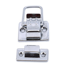 Stainless Steel Chrome Latch Toolbox Buckle Instrument Box Lock File Box Buckle Cosmetic Case Aluminum Tool Box Buckle(China)